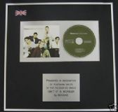 BOYZONE - CD single Award - ISN'T IT A WONDER